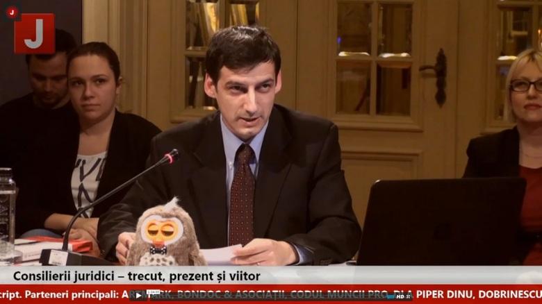 Mihai Sandru Dezbaterea Consilieri juridici 8 februarie 2016