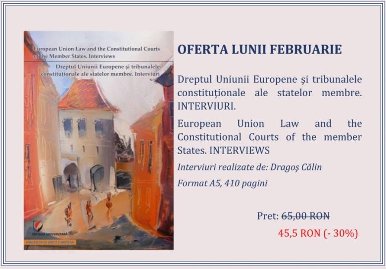 Univeristara Dragos Calin Dreptul Uniunii Europene si tribunalele constitutionale ale statelor membre