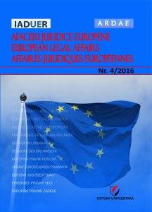 Afaceri juridice europene 4 2016
