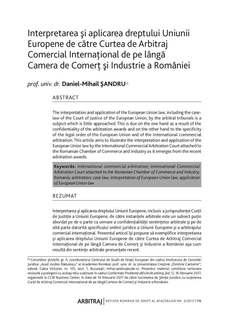 RRDA 2-2017-SANDRU arbitraj drept UE-page-001